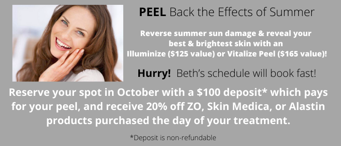 Peel Back the Effects of Summer